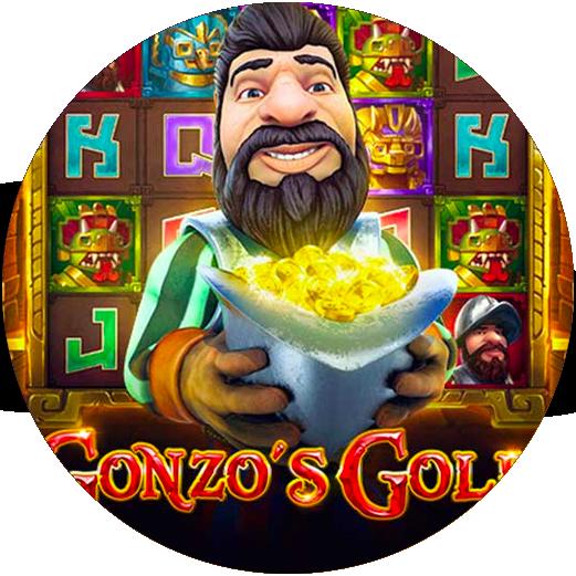 Logo Gonzo's Gold
