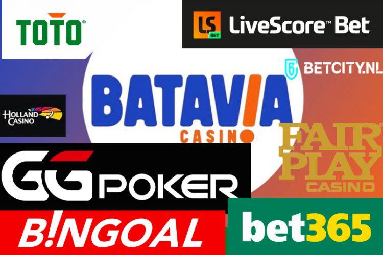 Dit zijn ze: de 10 online casino's die een vergunning krijgen uit Nederland